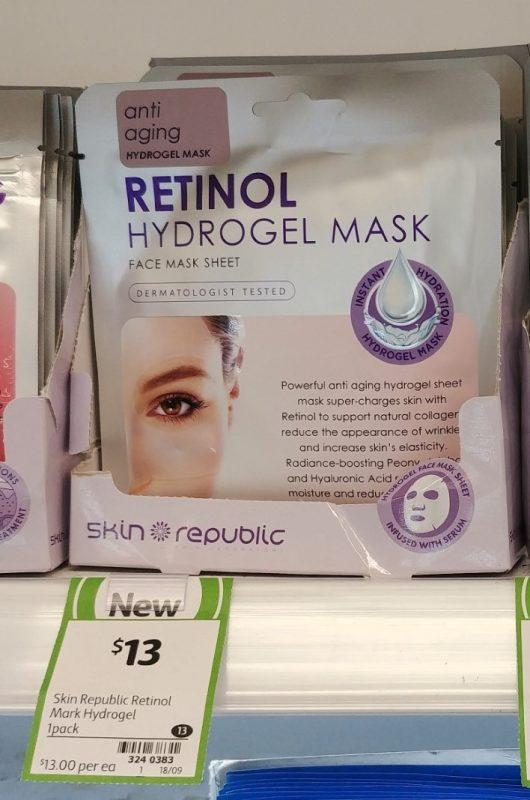 Skin Republic 1 Pack Hydrogel Mask Retinol