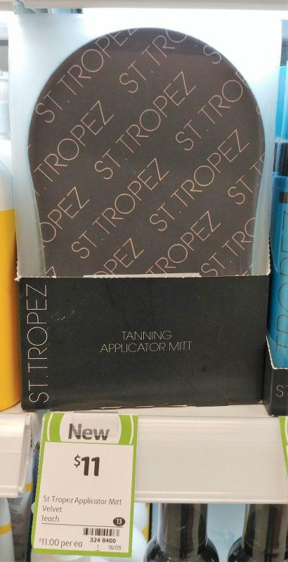 St Tropez 1 Pack Applicator Mitt Tannning