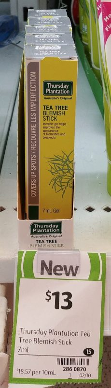 Thursday Plantation 7mL Blemish Stick Tea Tree