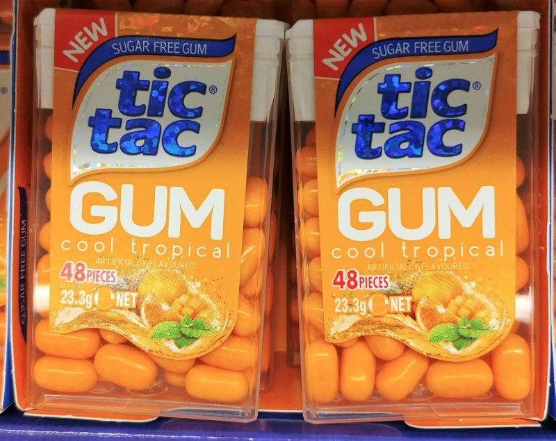 Tic Tac 23.3g Gum Cool Tropical