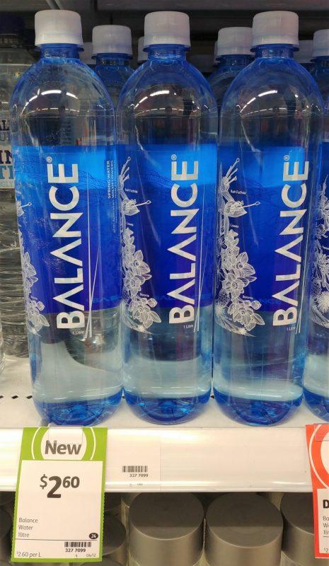 Balance 1L Water
