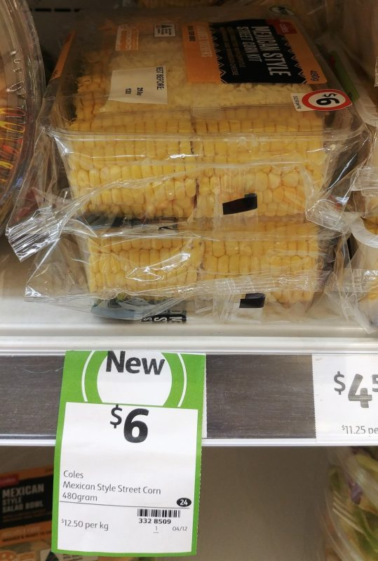 Coles 480g Sweet Corn Kit Mexican Style