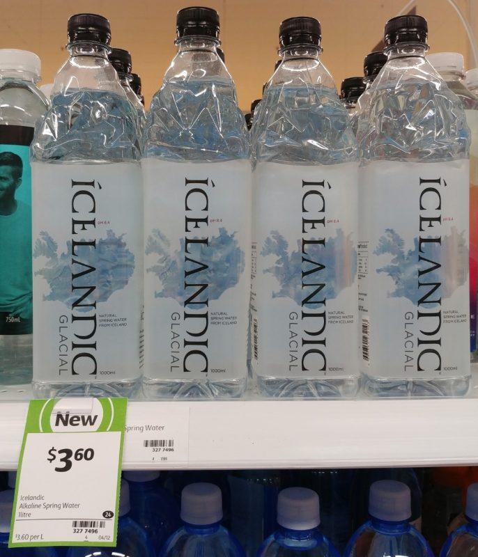 Icelandic 1L Spring Water Alkaline Glacial