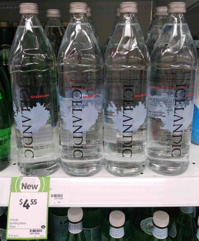 Icelandic 750mL Water Sparkling
