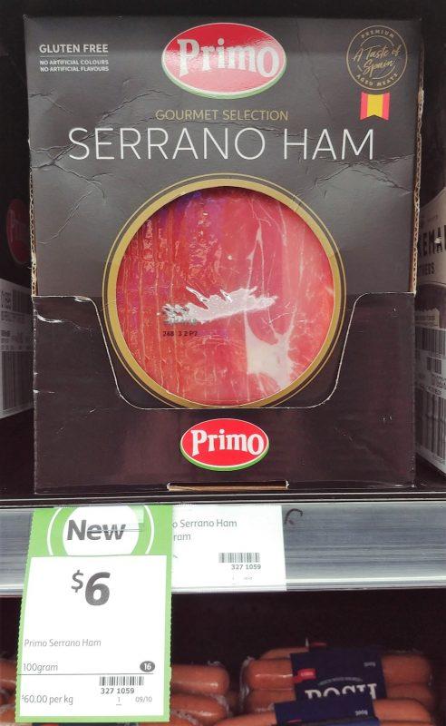 Primo 100g Ham Serrano