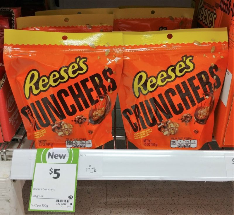 Reese's 184g Crunchers