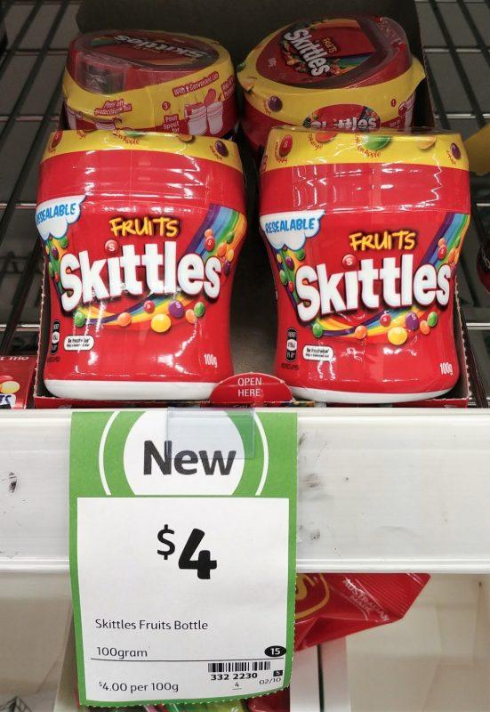Skittles 100g Fruits