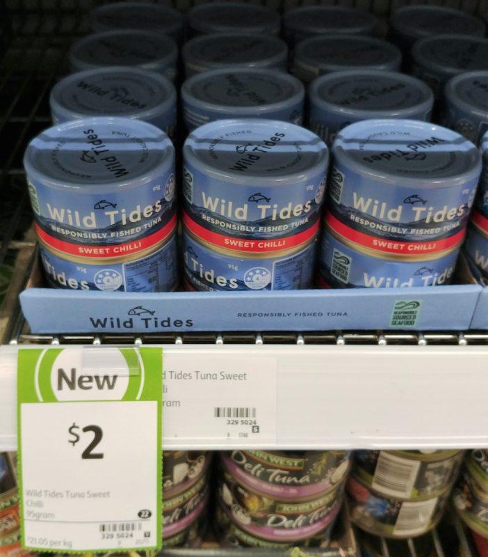 Wild Tides 95g Tuna Sweet Chilli