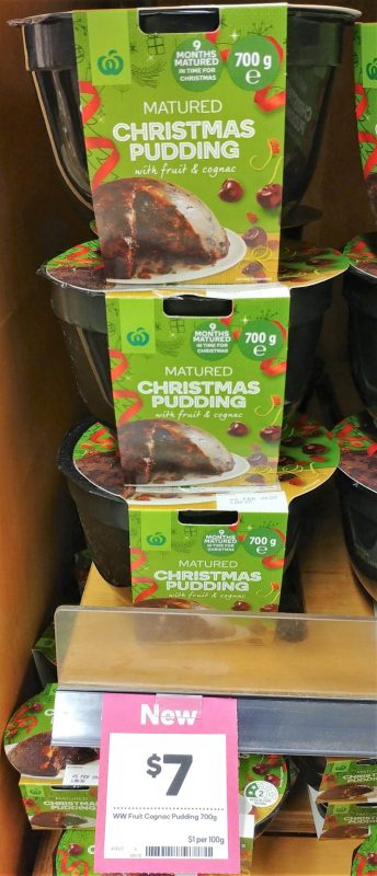 Woolworths 700g Christmas Pudding Matured