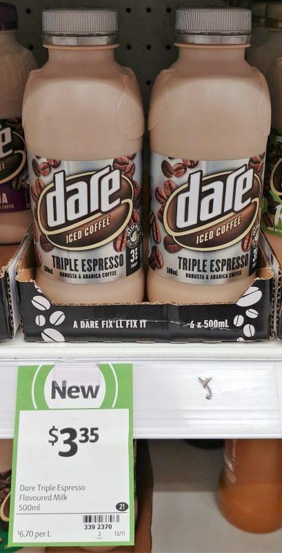 Dare 500mL Iced Coffee Triple Espresso