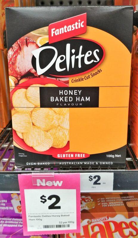 Fantastic 100g Delites Honey Baked Ham Flavour
