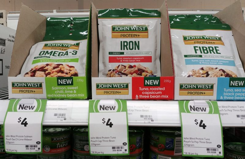 John West 220g Tuna Protein + Omega 3, Iron, Fibre