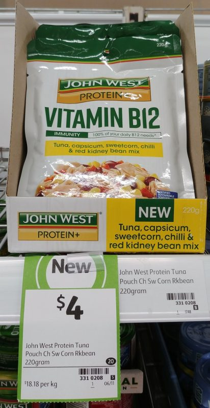 John West 220g Tuna Protein + Vitamin B12