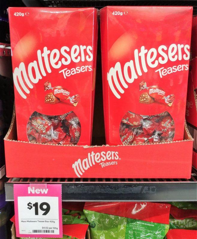 Mars 420g Maltesers Teasers