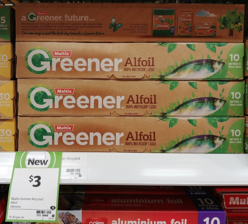 Multix 10m Greener Alfoil