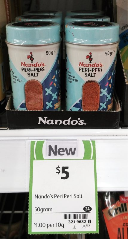 Nando's 50g Salt Peri Peri