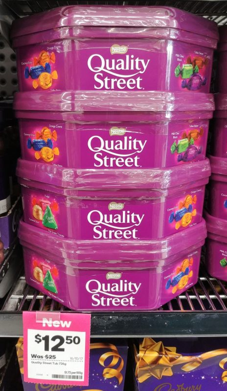 Nestle 726g Quality Street