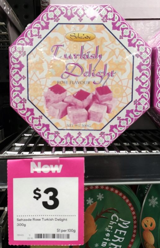 Sechzade 300g Turkish Delight Rose Flavour