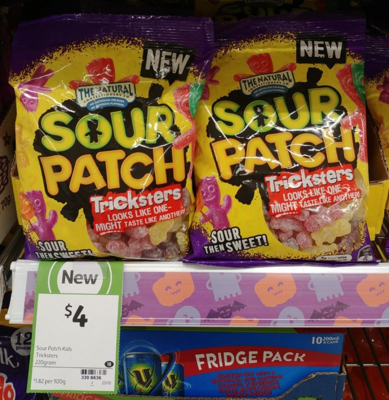 The Natural Confectionery Co 220g Sour Patch Tricksters