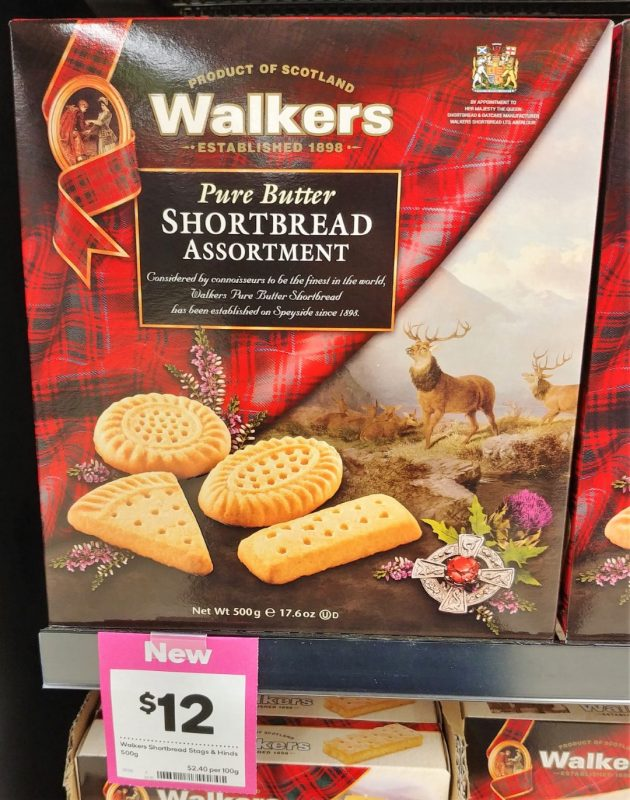 Walkers 500g Shortbread Assortment