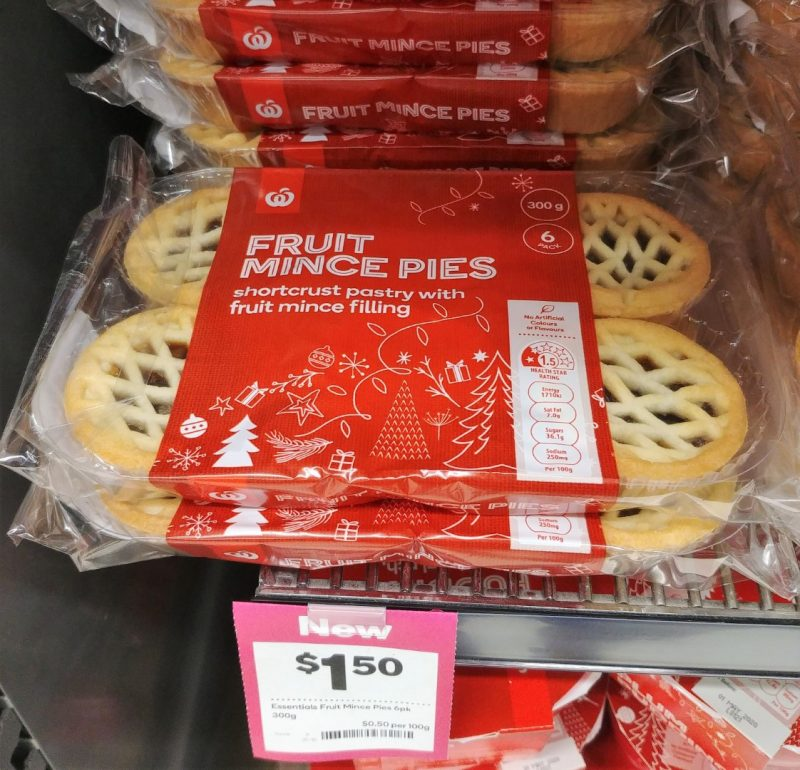 Woolworths 300g Fruit Mince Pies