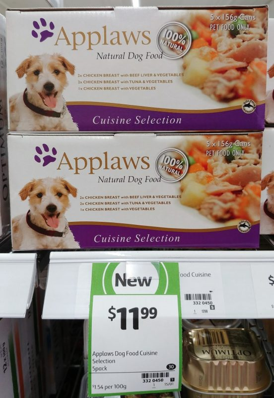 Applaws 5 X 156g Dog Food Cuisine Selection
