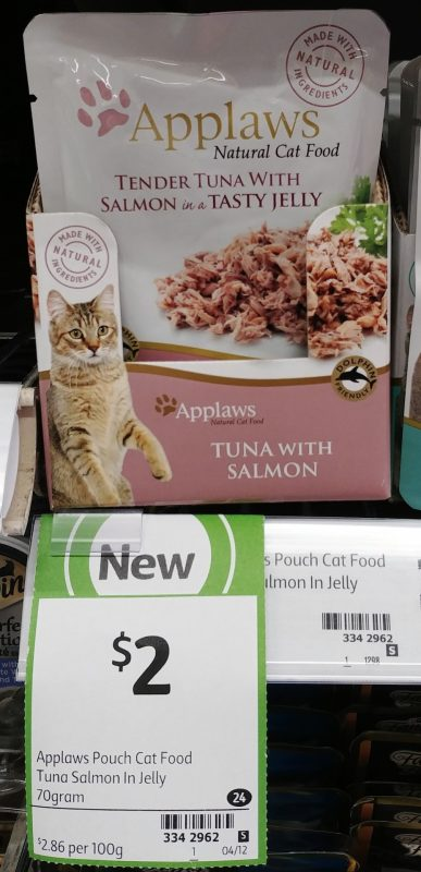Applaws 70g Cat Food Tuna With Salmon