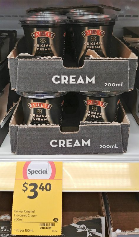 Bailey's 200mL Cream Original