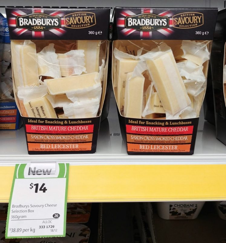 Bradburys 360g Cheese British Savoury Selection
