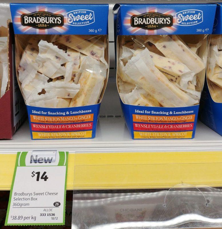 Bradburys 360g Cheese British Sweet Selection