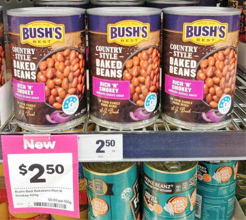 Bushs Best 454g Baked Beans Rich 'N' Smokey