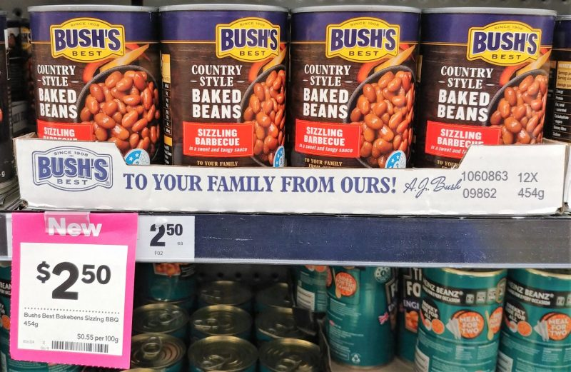 Bushs Best 454g Baked Beans Sizzling Barbecue