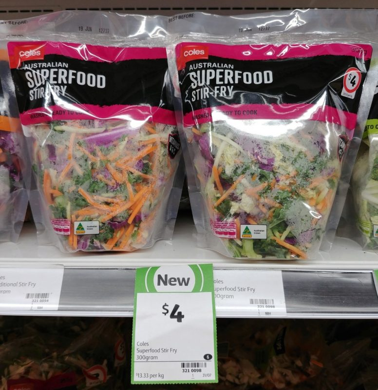 Coles 300g Stir Fry Superfood