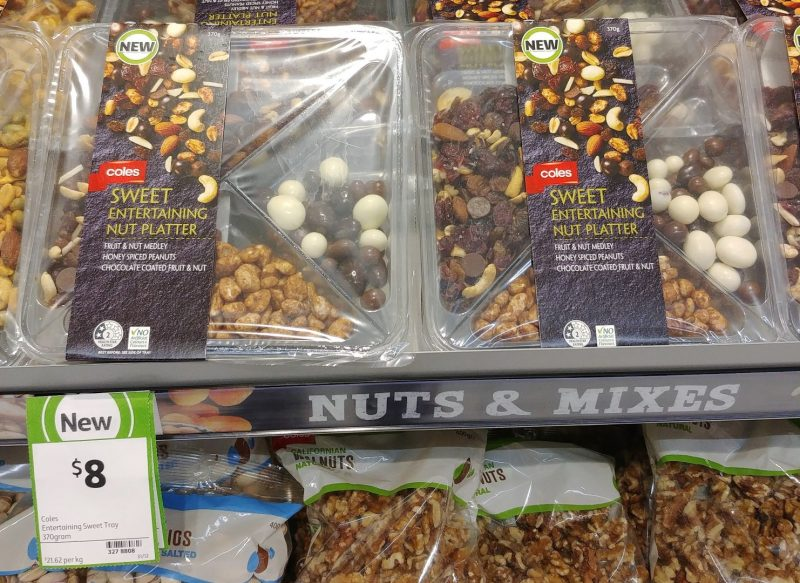 Coles 345g Nut Platter Sweet Entertaining