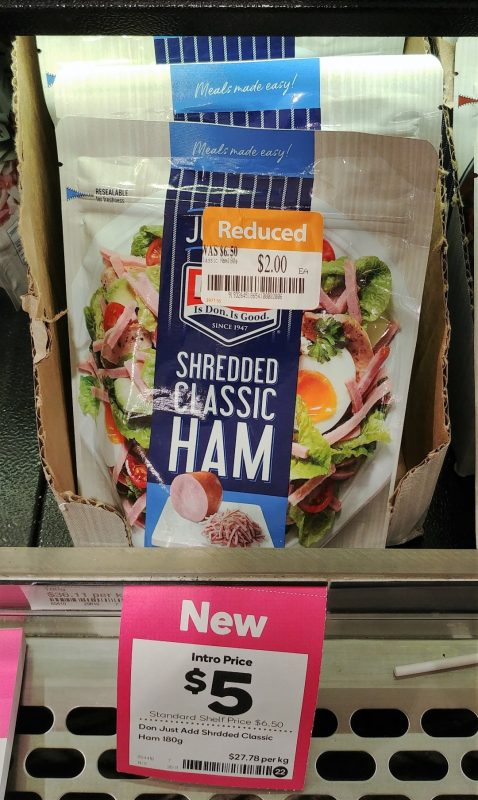 Don 180g Just Add Shredded Ham Classic