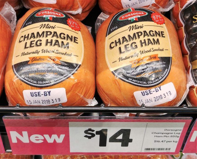 D'orsogna 850g Leg Ham Champagne Mini