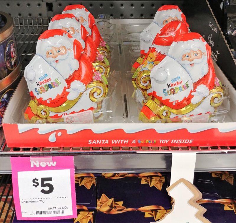Kinder 75g Surprise Santa