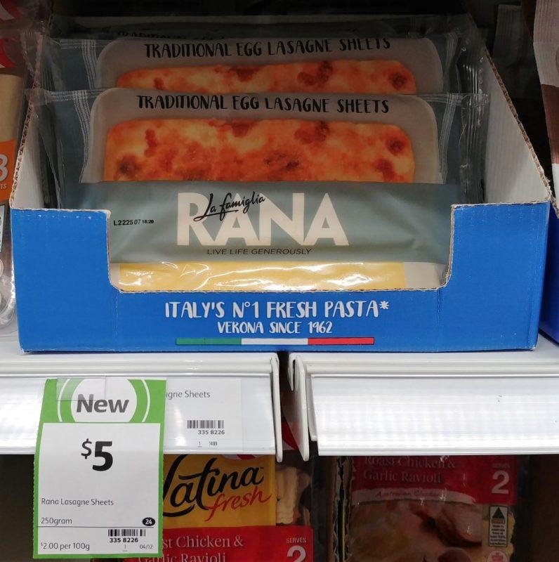 La Famiglia Rana 250g Lasagne Sheets Traditional Egg