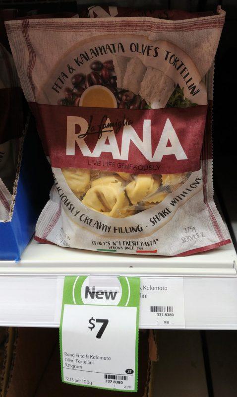 La Famiglia Rana 325g Tortellini Feta & Kalamata Olives