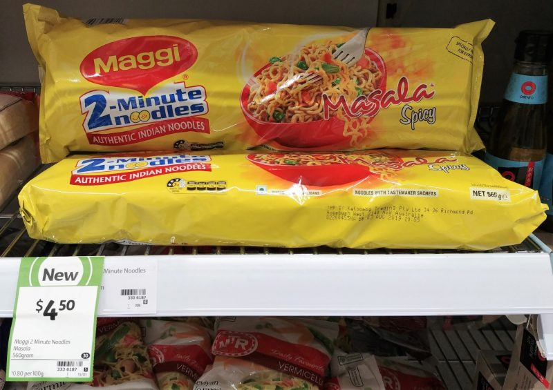 Maggi 560g 2 Minute Noodles Masala Spicy