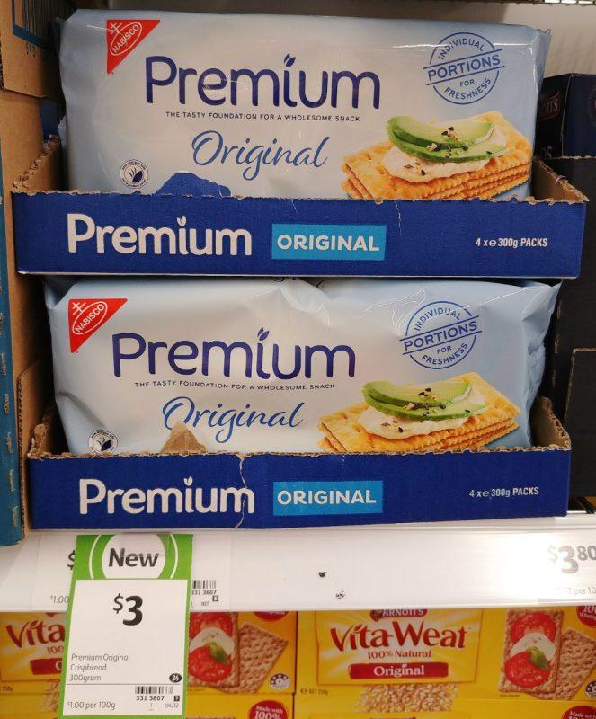 Nabisco 300g Premium Original