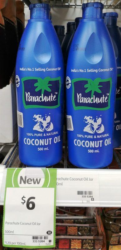 Parachute 500mL Coconut Oil