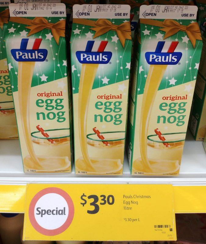 Pauls 1kg Egg Nog Original