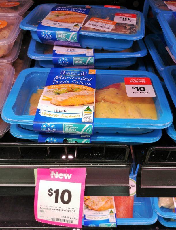 Tassal 260g Salmon Marinated Tassie Mustard & Dill Sauce