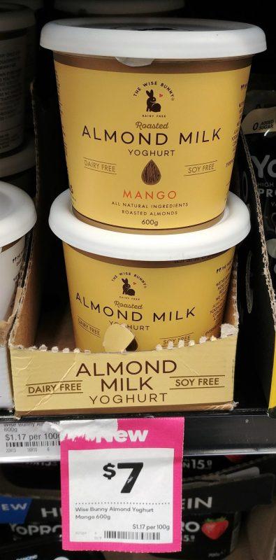 The Wise Bunny 600g Yoghurt Dairy Free Mango
