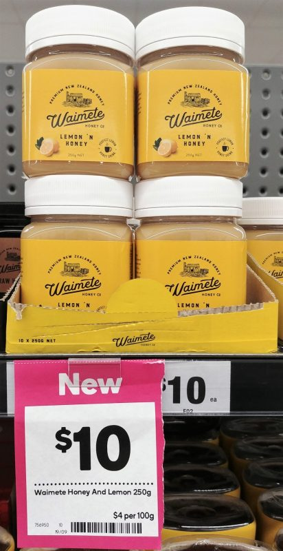 Waimete 250g Lemon 'N Honey