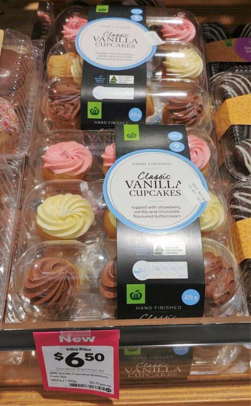 Woolworths 225g Cupcakes Vanilla Classic