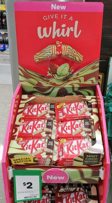 KitKat 45g Mint Choc Whirl