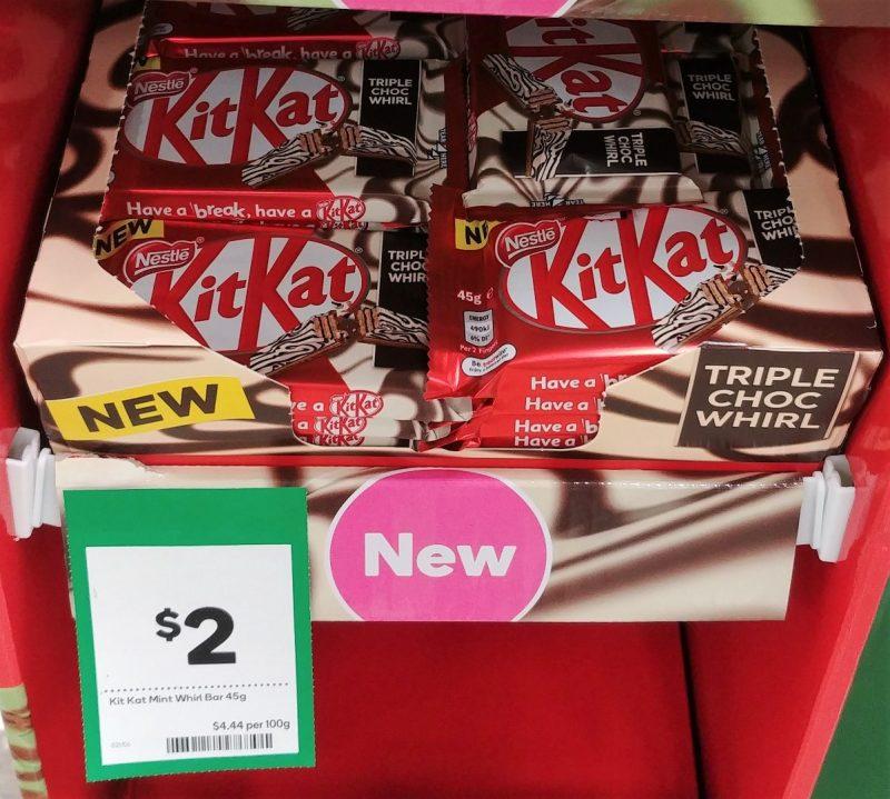 KitKat 45g Triple Choc Whirl