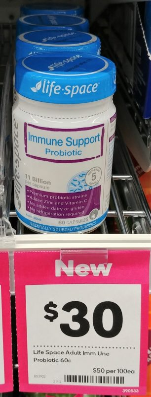 Life Space 60 Pack Probiotic Immune Support
